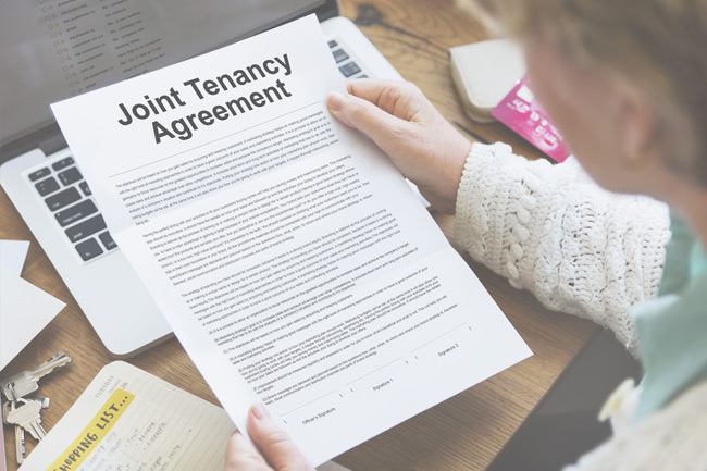 Joint Tenancy Agreement Palm Springs